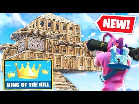 *NEW* KING-OF-THE-HILL Custom Gamemode In Fortnite Battle Royale   W/ Lazarbeam, Lachlan & Vikkstar