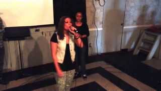 Angie Rose Rockin at Elements Church in the Bronx