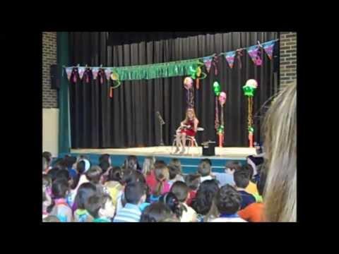 Bassett Elementary School Talent Show 2013 Star Spangled Banner