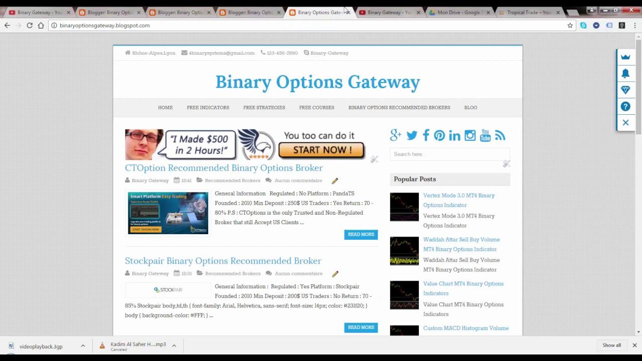 Binary options finland