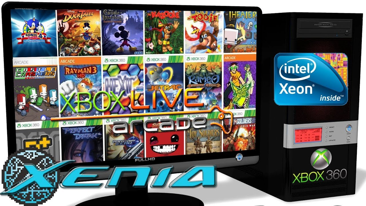 XENIA Xbox 360 Emulator - XBLA Games (Multi Test) #3