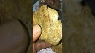 Selling gold raw natural raw Find the best in the world, 4 grams of heavy
