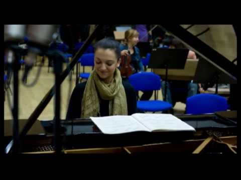 Irena Koblar, L. M. Skerjanc, Concertino for piano and strings, 2nd mov.