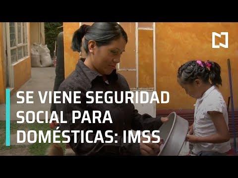 IMSS anuncia programa de seguridad social para trabajadoras domésticas - En Punto con Denise Maerker