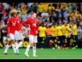 Wayne Rooney on Knockout Celebration & Marouane Fellaini interview after United beat Spurs 3-0