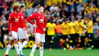 Watford vs Manchester United 3-1 | ROONEY & FELLAINI OUT!!!