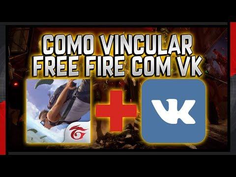 Como Vincular Uma Conta Do Free Fire Com O VK - Atualizado E Funcinando!