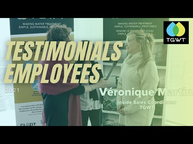 Testimonials from Employees on TGWT