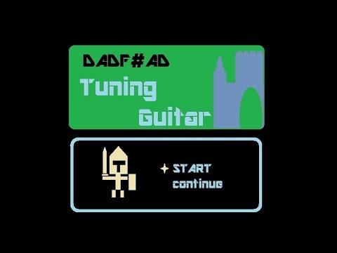 Tuning?Guitar DADF#AD