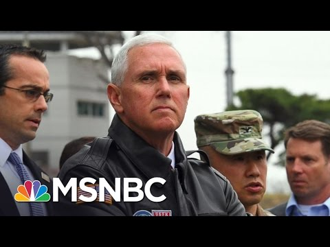 Vice President Mike Pence Visits The DMZ | MSNBC