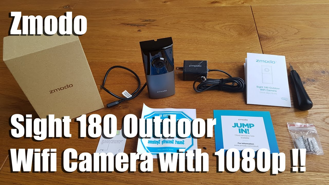Zmodo Sight 180 Outdoor [Unboxing and Setup] on