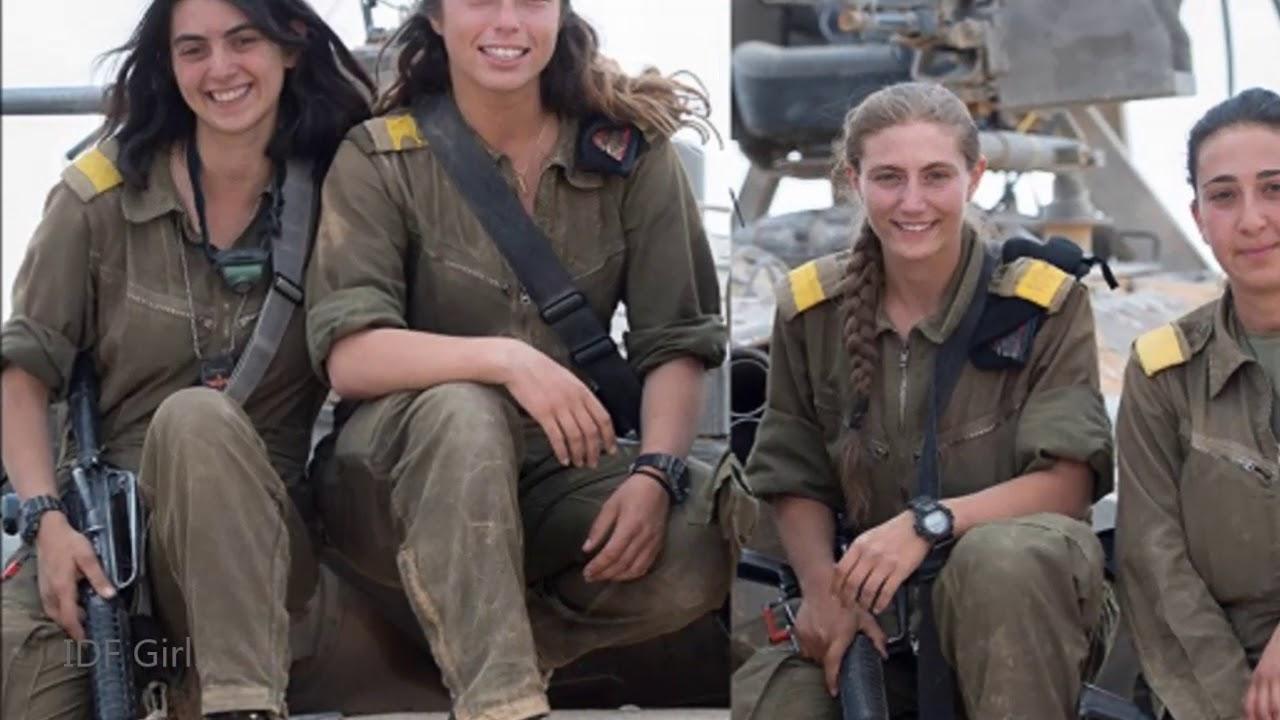 Israel Military Power IDF Girls I'm a Warrior Military Motivation