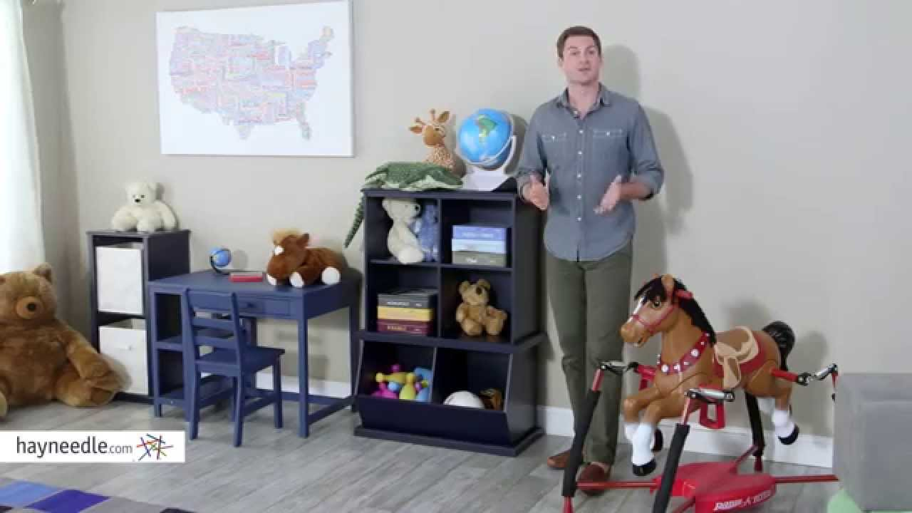 Clic Playtime Stackable Toy Storage Navy Product Review Video