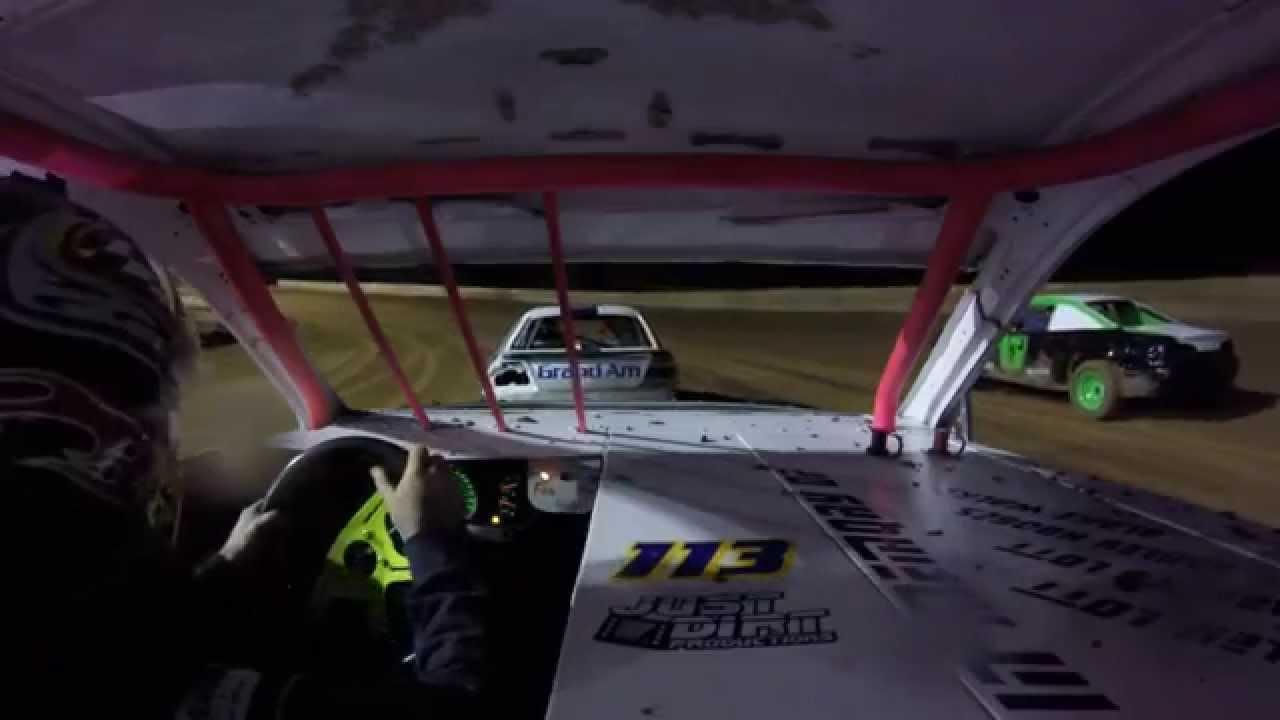 113 Racing incar Heat Race Baton Rouge Raceway 4/11/15 ...