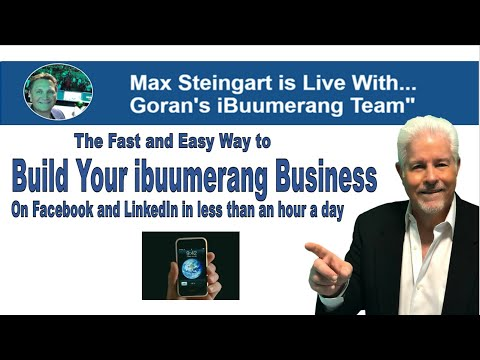 How To Build An Ibuumerang Business On Facebook And LinkedIn In Less Than An Hour A Day