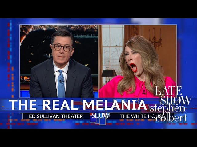 Melania Trump Denies Using A 'Fake Melania'