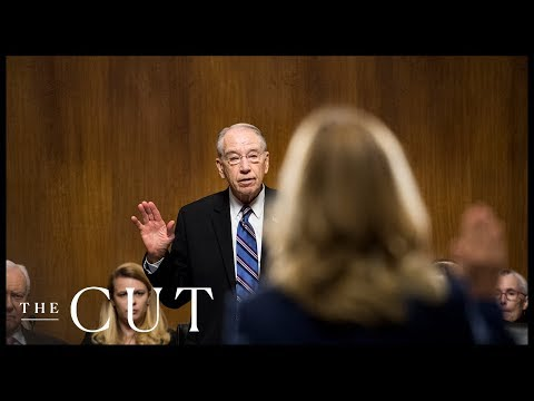 All of Senator Chuck Grassley's Outbursts During the Ford-Kavanaugh Hearing