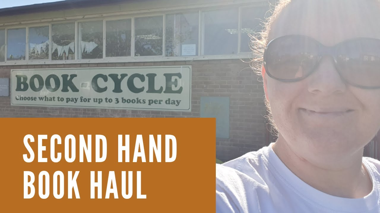 Secondhand Book Haul - Come Charity Shopping With Me