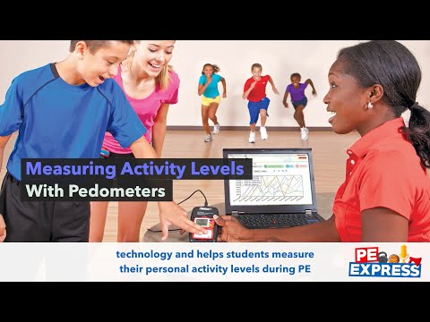 Measuring Activity Levels with Pedometers | PE Express Ep. #67