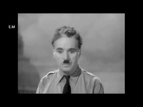 The Great Dictator- Final Speech + lyrics
