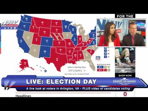 LIVESTREAM: Donald Trump Wins Presidency - FULL COVERAGE - FNN