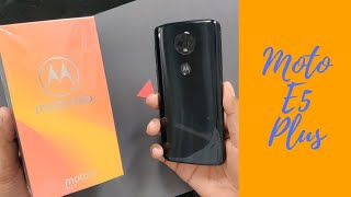 Moto E5 Plus Black Unboxing & Quick Look in 5 Minutes !!!