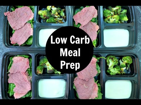 Low Carb Meal Prep For The Week - Ketogenic Diet Weight Loss Foods