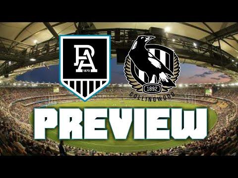 PORT ADELAIDE VS COLLINGWOOD   ROUND 18 AFL PREVIEW