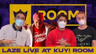 """LIVE AT KUY! ROOM: MULAI DARI IWA K HINGGA JAY-Z, LAZE KASIH """"PENGHARGAAN"""" RAP """"DARI LAYAR"""" !!!"""