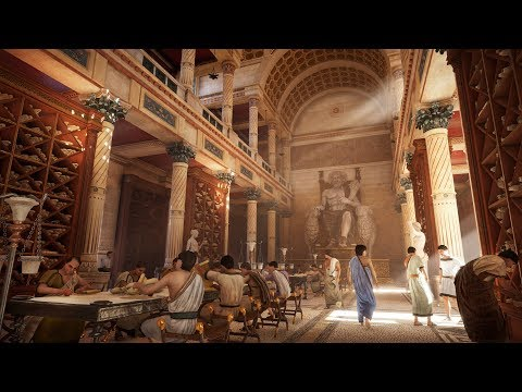 Assassin's Creed Origins - The Royal Library of Alexandria