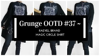 68ac6425bb Grunge OOTD #37 ~ Raeyel Brand ~ Magic Circle Shirt