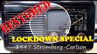 1947 Stromberg-Carlson 4A47 Restoration - Extended Version Lockdown Special