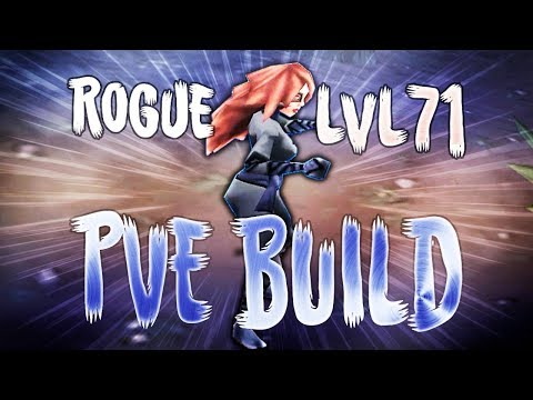 Arcane Legends - L71 Rogue PvE Build (Check Comment #1)