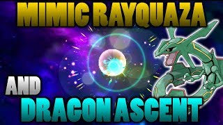 Can Rayquaza Mimic Dragon Ascent To Mega Evolve In Pokemon Ultra Sun and Moon?