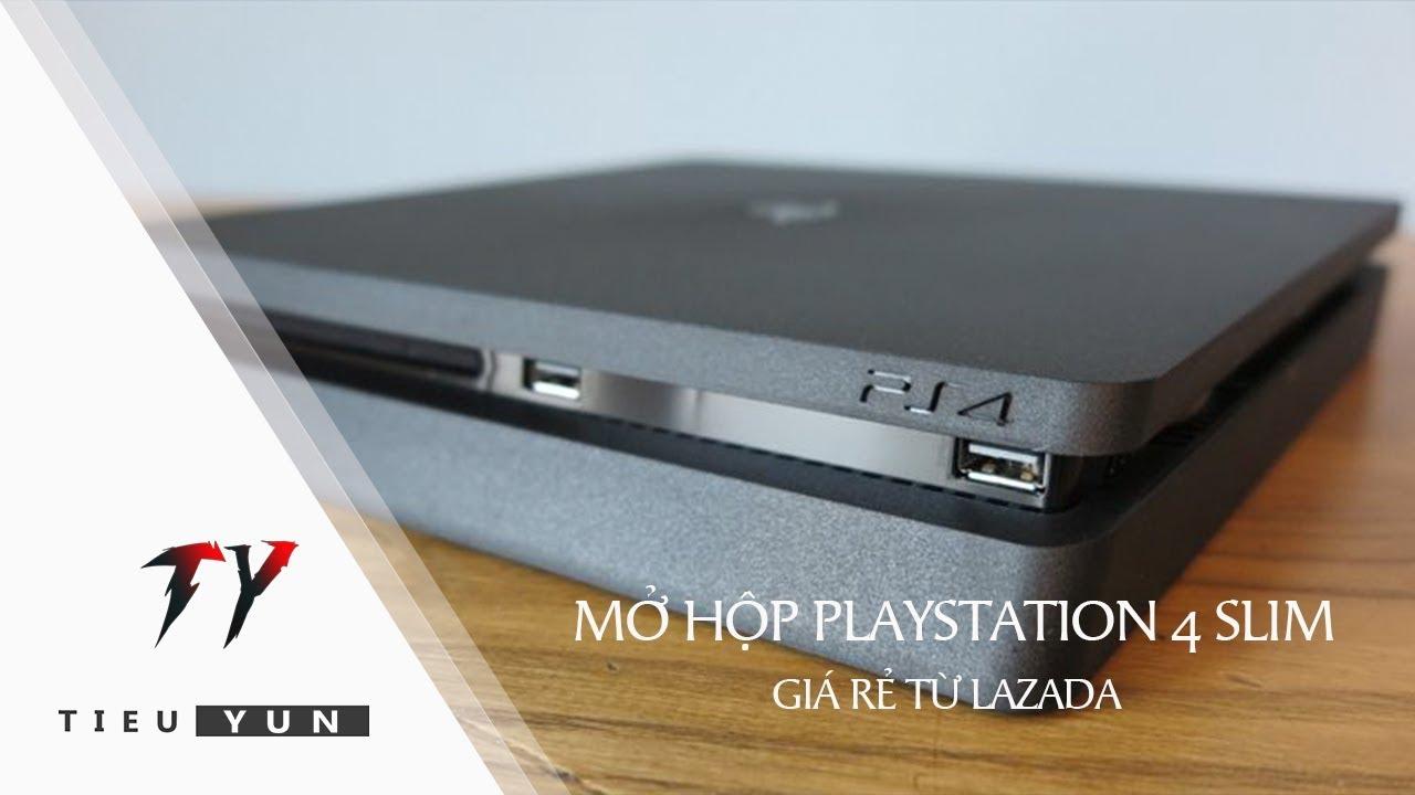 Mở Hộp PS4 Slim Giá Rẻ Từ Lazada