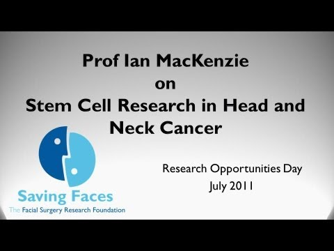 Research Day 2011 - Prof Ian MacKenzie on cancer stem cells in head and neck cancer