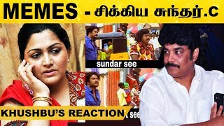 Sundar.C - Khushbhu's Reaction..! | Social Media - 01-04-2020 Tamil Cinema News