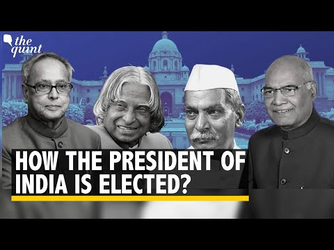 How the President of India is elected?