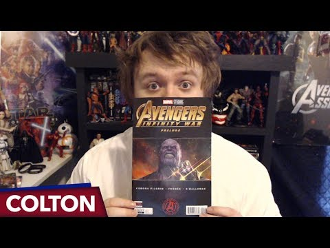 Avengers Infinity War Prelude 2 Comic Review and Flip Through