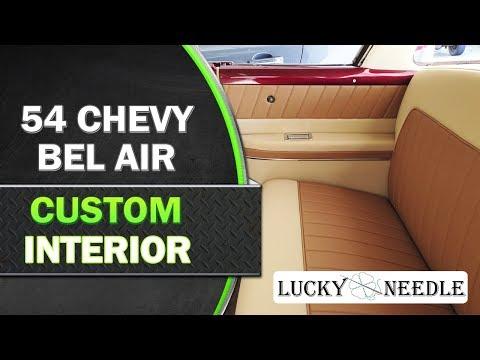 Chevy Bel Air Custom Interior  | Auto Upholstery |