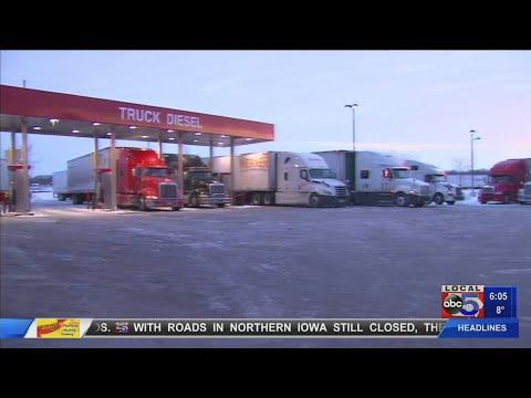 Ames Truck Stops At Capacity