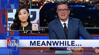 Meanwhile... Awkwafina Is The New Voice Of NYC's 7 Train