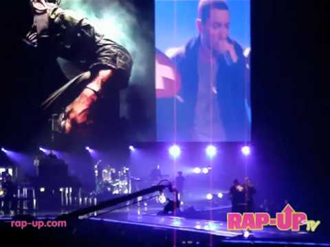 Eminem Performs Wont Back Down  in Los Angeles