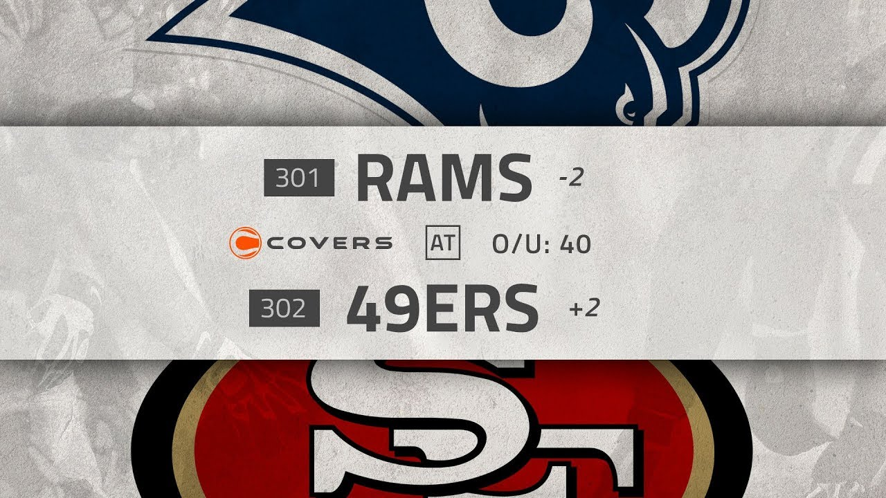 NFL Week 3 Betting Preview and Odds: Rams at 49ers