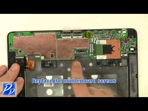 Dell Venue 8 Pro (5830) Tablet Front Camera Replacement Video Tutorial Teardown