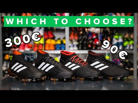CHEAP vs EXPENSIVE adidas Predator 18+ football boots explained