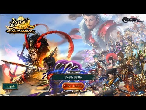 Trải Nghiệm Game Mobile Tam Quốc - Dynasty Legends: Legacy Of King