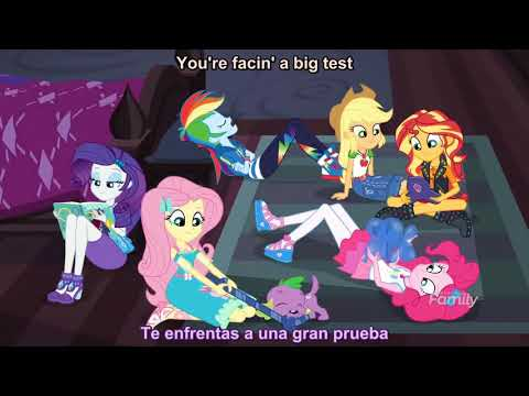 """My Little Pony Equestria Girls """"The Finals Countdown"""" Parte 1"""