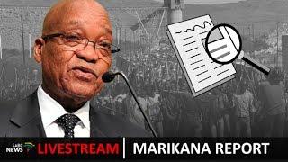 President Jacob Zuma releases the Marikana report