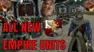 ALL NEW EMPIRE UNITS - The Hunter & The Beast | Stats, Costs, Abilities - Total War Warhammer 2